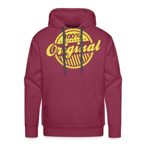 Sweater original - Mannen Premium hoodie
