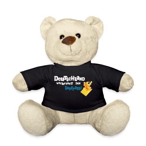 Kuschelbär-schwarz / DVDI-Logo - Teddy