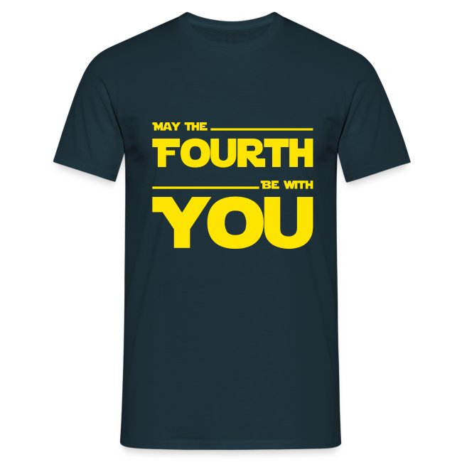 May Fourth Be With You Science Fiction Geek Shirt