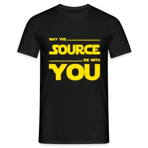 May Source Be With You - Programmierer T-Shirt - Men's T-Shirt