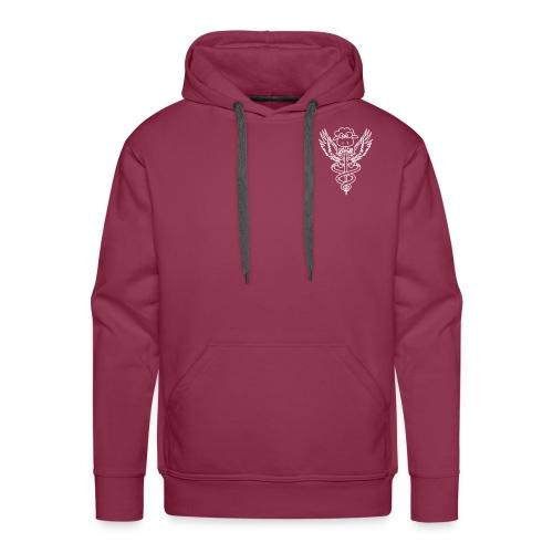sweat homme kine bègles (logo) - Sweat-shirt à capuche Premium pour hommes