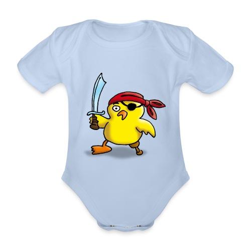 baby Rompertje - Baby bio-rompertje met korte mouwen