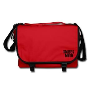 Sac à bandoulière Rouge Logo Noir - Sac à bandoulière