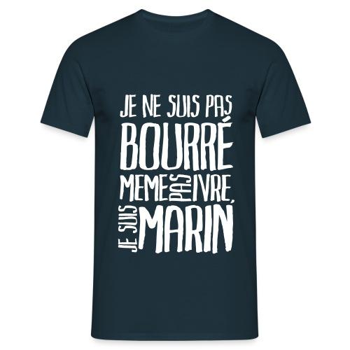 Je suis marin (foncé) - T-shirt Homme
