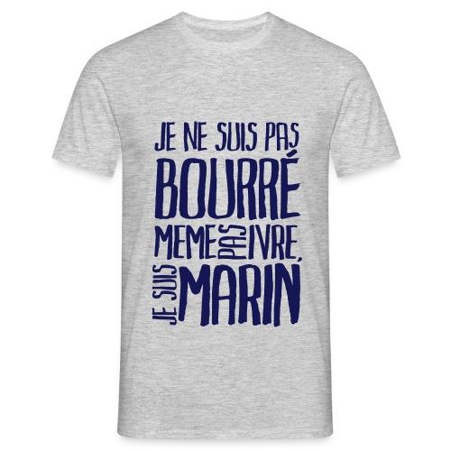 Je suis marin (clair) - T-shirt Homme