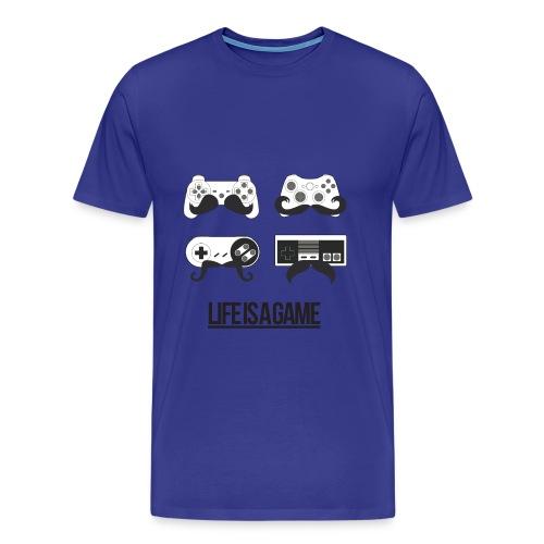 T-shirt lifeisagame - T-shirt Premium Homme