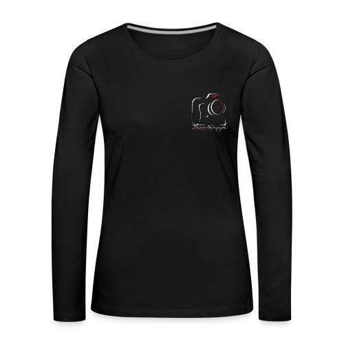 Tee shirt manches longues Femme sombre logo - T-shirt manches longues Premium Femme