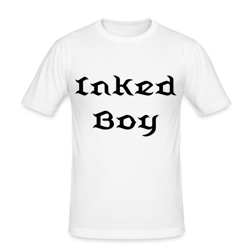 Tee shirt près du corps Homme Inked Boy - T-shirt près du corps Homme