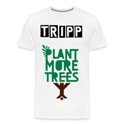 Tripp save the trees-T-shirt - Men's Premium T-Shirt