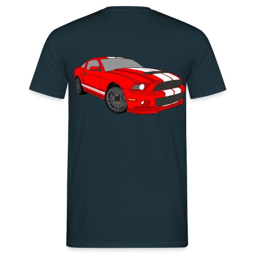Mustang Shelby GT500 '10 - Camiseta hombre