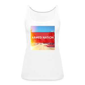 ARMED NATION GIRLIE TOP LA - Frauen Premium Tank Top