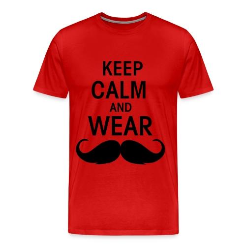 Männer T-Shirt Keep Calm And Wear - Männer Premium T-Shirt