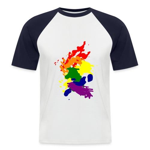men. ART - Mannen baseballshirt korte mouw