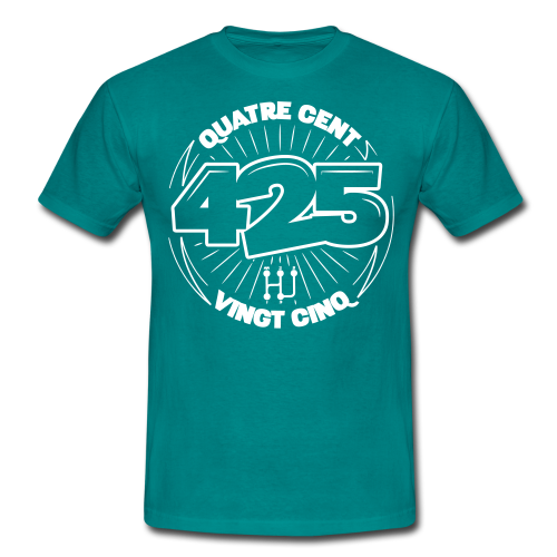 Quatre Cent Vingt Cinq - T-shirt Homme
