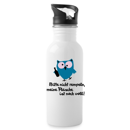 Flascheneule - Trinkflasche