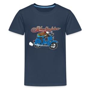 Teenaager-Shirt Comic Raser - Teenager Premium T-Shirt