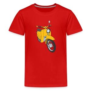 Teenager Shirt gelbe Schwalbe - Teenager Premium T-Shirt
