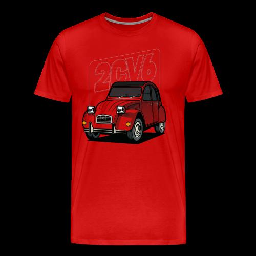 2CV6 Club - T-shirt Premium Homme