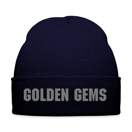 Golden Gems Logo - Beanie Hat  - Winter Hat
