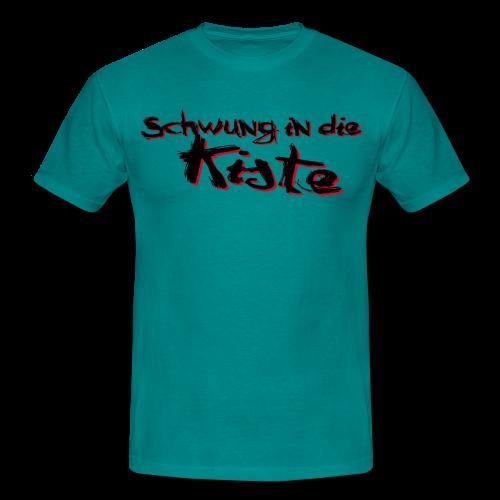 Schwung in die Kiste - Männer T-Shirt - Männer T-Shirt