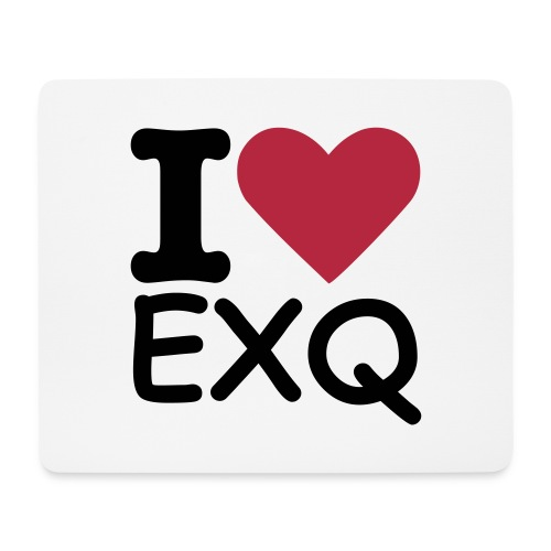 I LOVE EXQ Mousepad - Mousepad (Querformat)