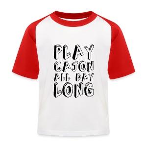 Play Cajon all day long! Kinder-Baseballshirt - Kinder Baseball T-Shirt