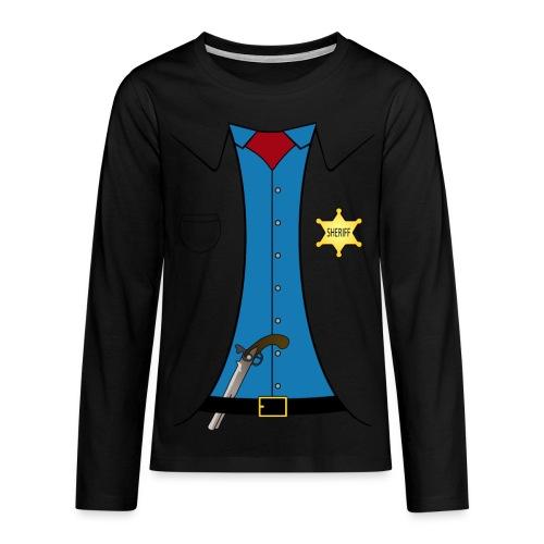 Sheriff - Teenager - Teenager Premium Langarmshirt