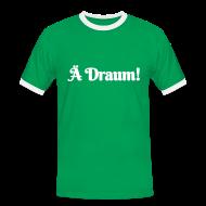 T-Shirts ~ Männer Kontrast-T-Shirt ~ Ä Draum