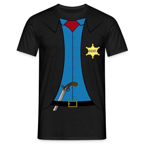 Sheriff - Männer T-Shirt