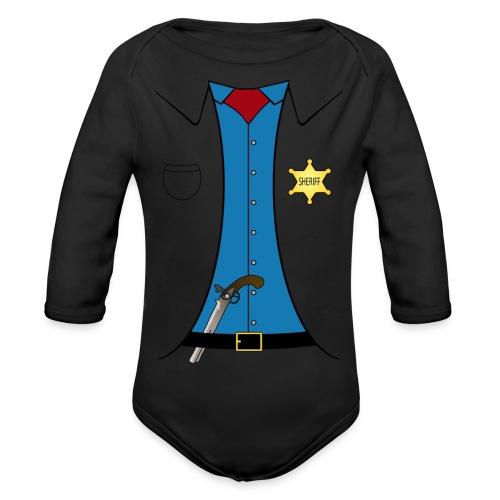 Sheriff - Baby - Baby Bio-Langarm-Body