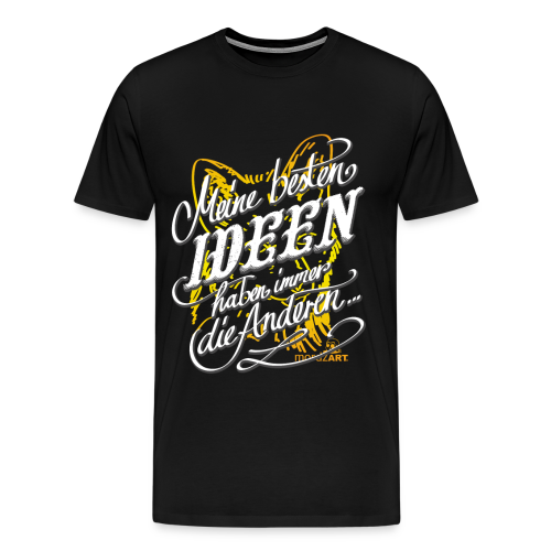 Beste Ideen - Männer Premium T-Shirt