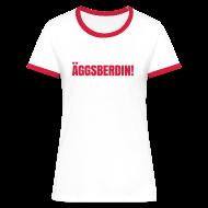 T-Shirts ~ Frauen Kontrast-T-Shirt ~ Äggsberdin