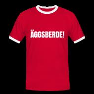T-Shirts ~ Männer Kontrast-T-Shirt ~ Äggsberde