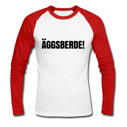 Äggsberde - Männer Baseballshirt langarm