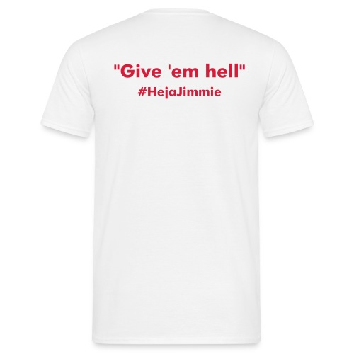 Give 'em hell. - T-shirt herr