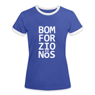 T-Shirts ~ Frauen Kontrast-T-Shirt ~ Bomforzionös