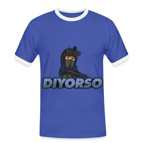 T-Shirt Channel Youtube Diyorso - T-shirt contrasté Homme