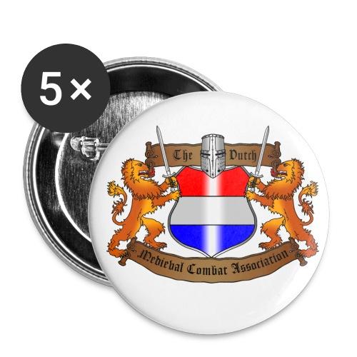 TDMCA Logo 1Buttons (5pcs) - Buttons klein 25 mm