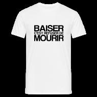 Tee shirts ~ Tee shirt Homme ~ BAISER