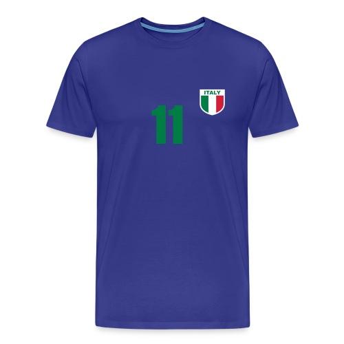 Italy Voetbal - Mannen Premium T-shirt
