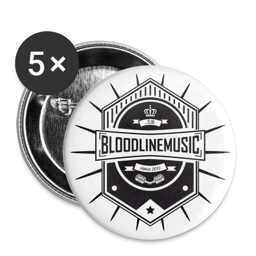 BLOODLINEMUSIC LOGO  - Buttons groß 56 mm