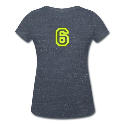 Rosa - Ekologisk T-shirt med V-ringning dam från Stanley & Stella
