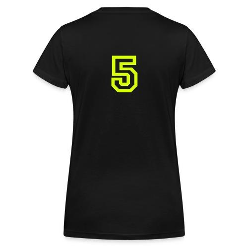 Kristin - Ekologisk T-shirt med V-ringning dam från Stanley & Stella