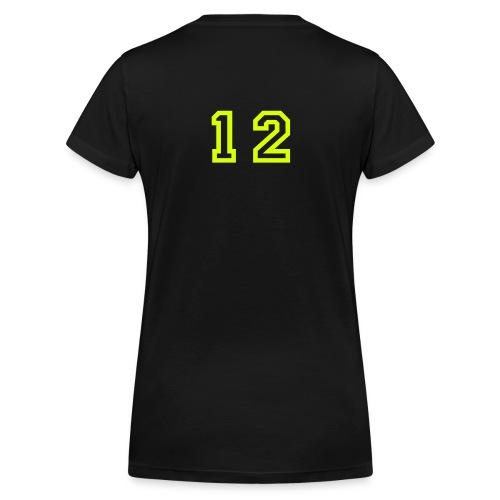 Anna L - Ekologisk T-shirt med V-ringning dam från Stanley & Stella