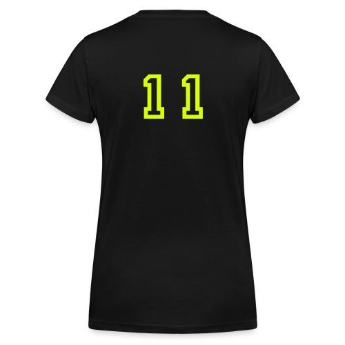 Lena  - Ekologisk T-shirt med V-ringning dam från Stanley & Stella