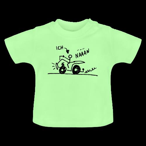 Quadfahrer Baby - Baby T-Shirt