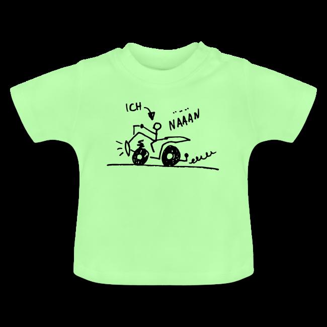 Quadfahrer Baby