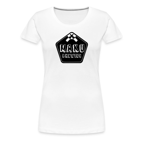 Maku Brewing naisten t-paita - Naisten premium t-paita