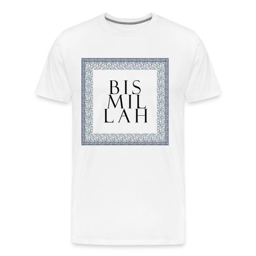 bismillah-cini-tshirt-men - Men's Premium T-Shirt