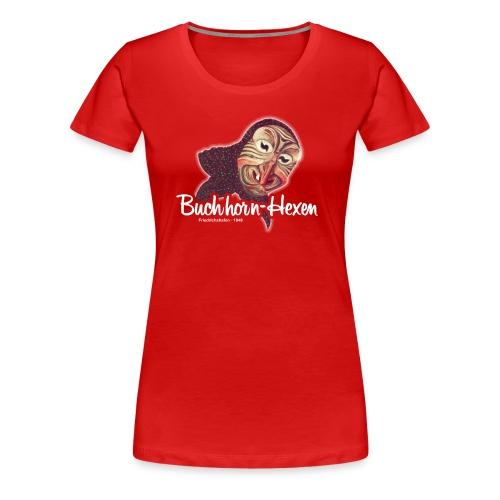 Motiv-Shirt Hexenkopf - Frauen Premium T-Shirt